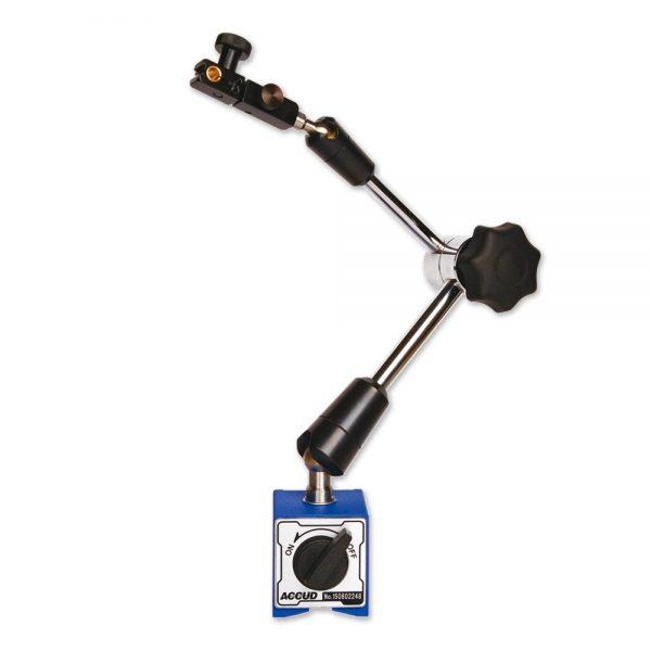 Braccio articolato universale con base magnetica - Cod. Accud 282-000-01/02.