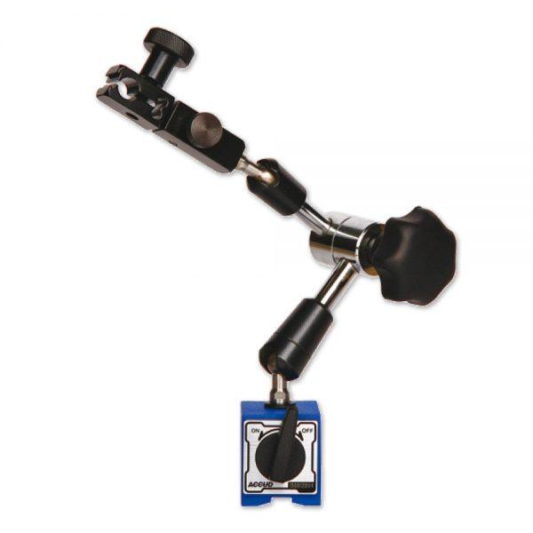 Braccio articolato mini con base magnetica – Cod. Accud 286-000-01.