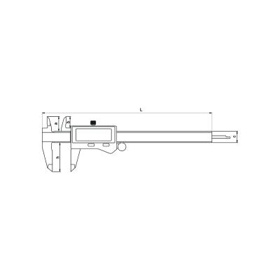Schema di calibro IP67 - Cod. Accud 112-000-13