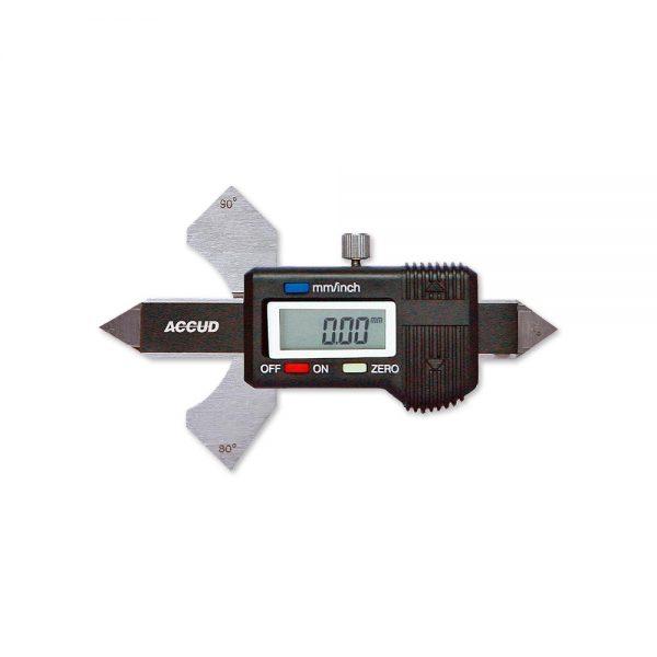 Calibro digitale per saldatura - Cod. Accud 970-000-11.