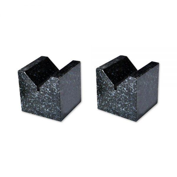 Coppia prismi a V in granito - Cod. Accud 631-000-01.