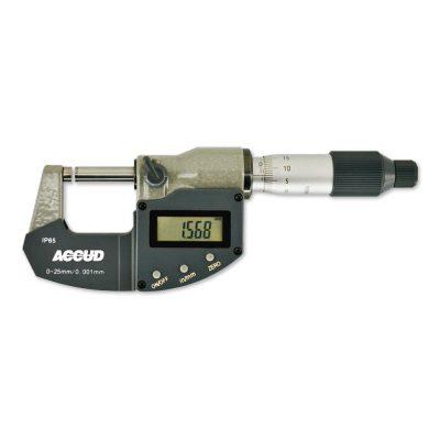 Micrometro digitale IP65 - Cod. Accud 313.