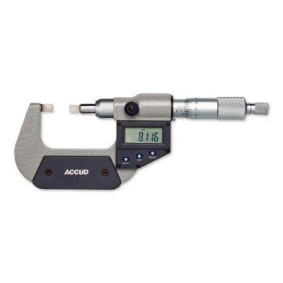 Micrometro digitale a lama – Cod. Accud 316-000-01/02.
