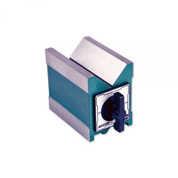 Prisma magnetico a doppia V – Cod. Accud 634-000-01/02/03.