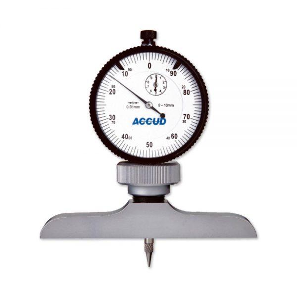 Profondimetro corsa 10mm – Cod. Accud 291-000-11/12.