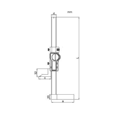 Schema di mini truschino digitale – Cod. Accud 183-000-11.